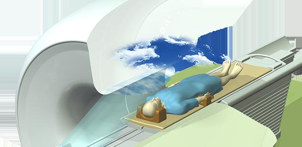 MRI用ボア内映像投影システム「Smart Theatre」の画像